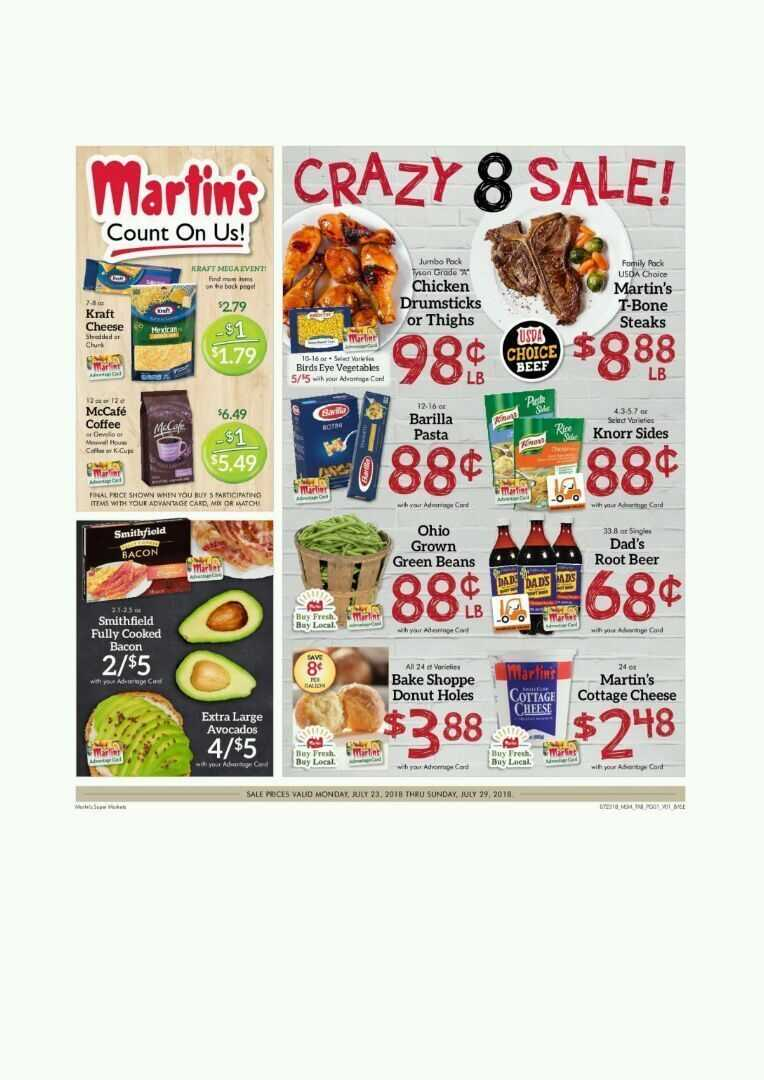 Offers Martin's 22-7-2018