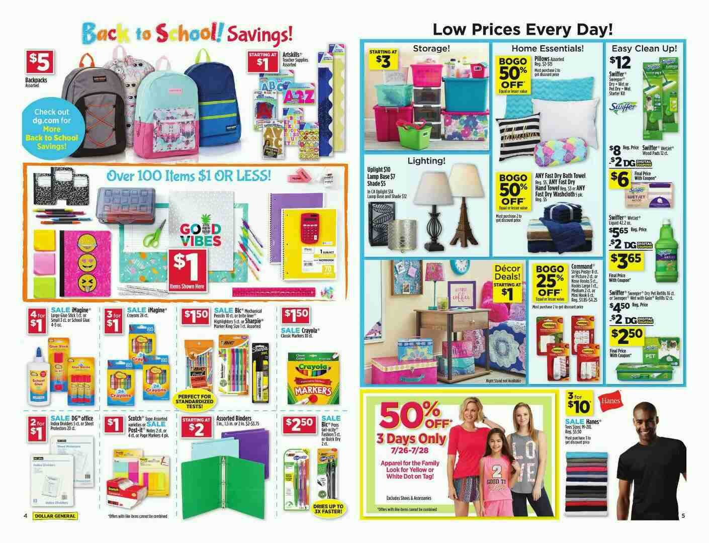 offers dollar general 22-7-2018