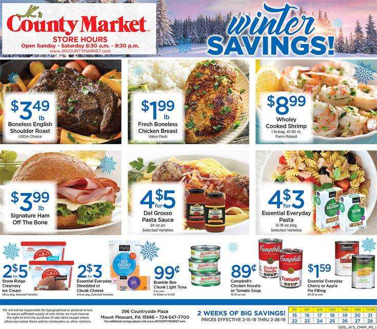 Offers county market